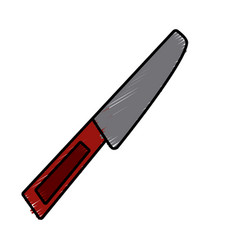 kitchen knife tool vector image