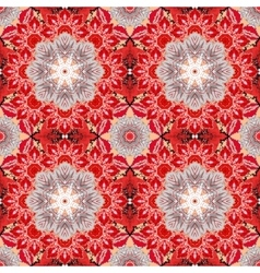 Ethnic floral seamless pattern Abstract vector image vector image