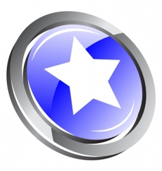 3d button vector