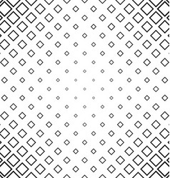 Abstract monochrome line square pattern background vector