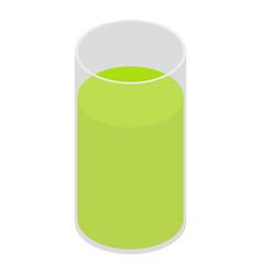 celery juice icon isometric style vector image