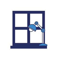 Desk lamp icon image vector