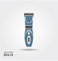 electrical hair clipper or shaver vector image