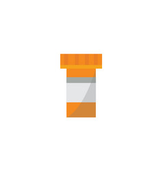 packaging for drugs or blister with pills icon vector image