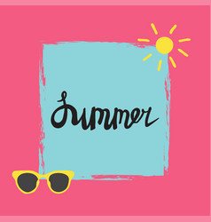 Summer quote vector