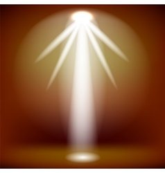 White Spotlight Background vector image vector image