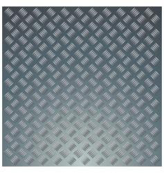 diamond metal plate vector image