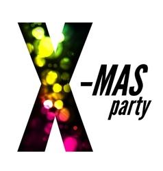 X-mas party vector image vector image
