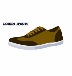 Casual shoes vector