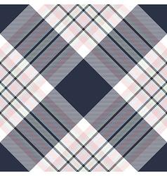 Check diagonal fabric texture seamless pattern vector