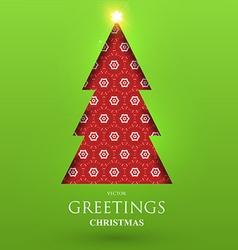 Christmas Greeting Card vector