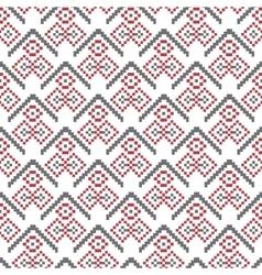 Christmas seamless pattern pixel vector