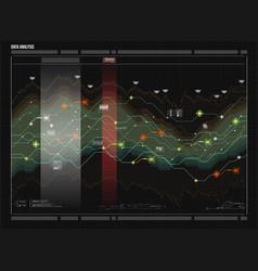 Data analysis visualization visual data vector