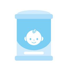 Diaper dispenser baisolated icon vector
