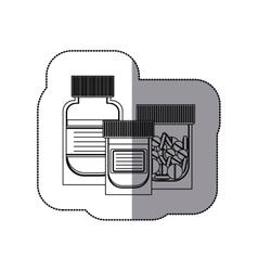 Isolated medicine design vector
