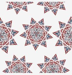 oriental pattern islam arabic turkish moroccan vector image