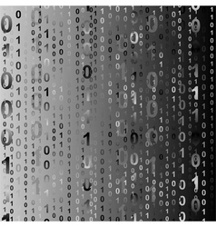 binary background vector image vector image