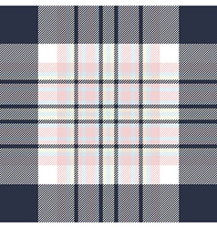 Check fabric texture seamless pattern vector image