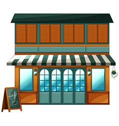 A cafe vector image