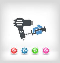dryer assistance vector image