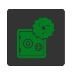 Hacking theft icon vector image