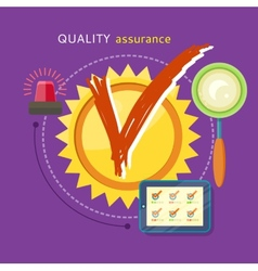 Quality Assured Concept vector