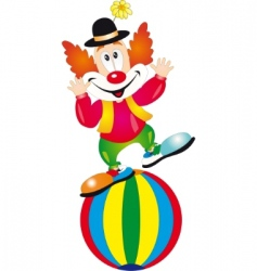 clown vector image vector image
