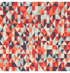 Colorful mosaic poly pattern vector
