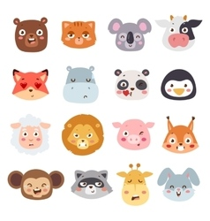 Animal emotions vector