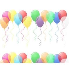 balloons 03 vector image vector image
