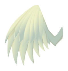 beautiful wing icon cartoon style vector image vector image