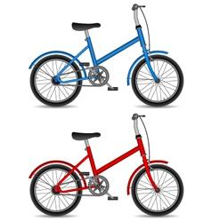 children bikes vector image