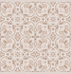 abstract seamless tiles pattern vector image
