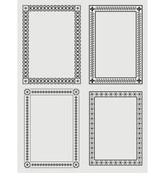borders vector image