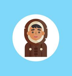 eskimo icon sign sybmol vector image