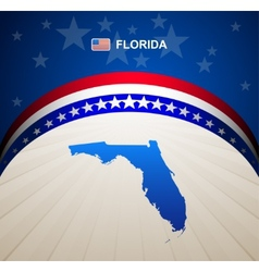 Florida vector image