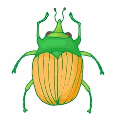 Insect bug icon cartoon style vector