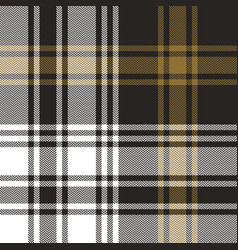 Plaid pattern background vector