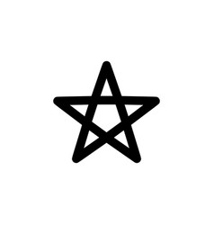 Religion symbol wicca icon element religion vector