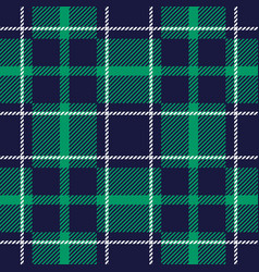 seamless tartan background vector image vector image