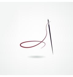 Seamstress icon vector