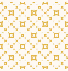 simple abstract yellow seamless pattern vector image