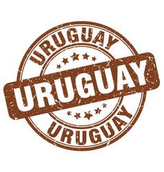Uruguay stamp vector