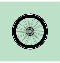 wheel Icon wheel Icon Bike wheel Icon Art vector image vector image