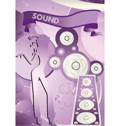 sound vector image