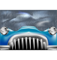 Car front cover vector