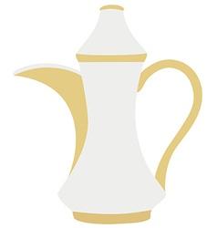 Turkish coffeepot vector image