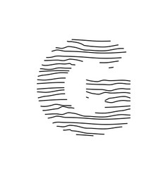Abstract line initial g vector