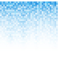 Digital abstract mosaic background vector