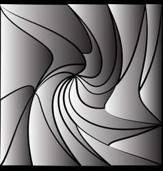 Monochrome tessellating background abstract vector